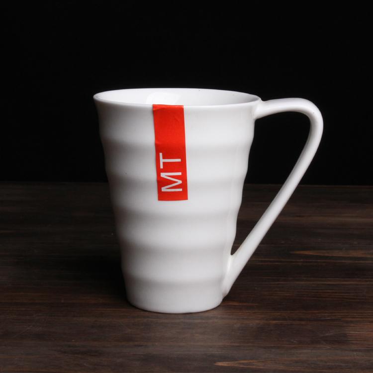 螺紋陶瓷馬克杯