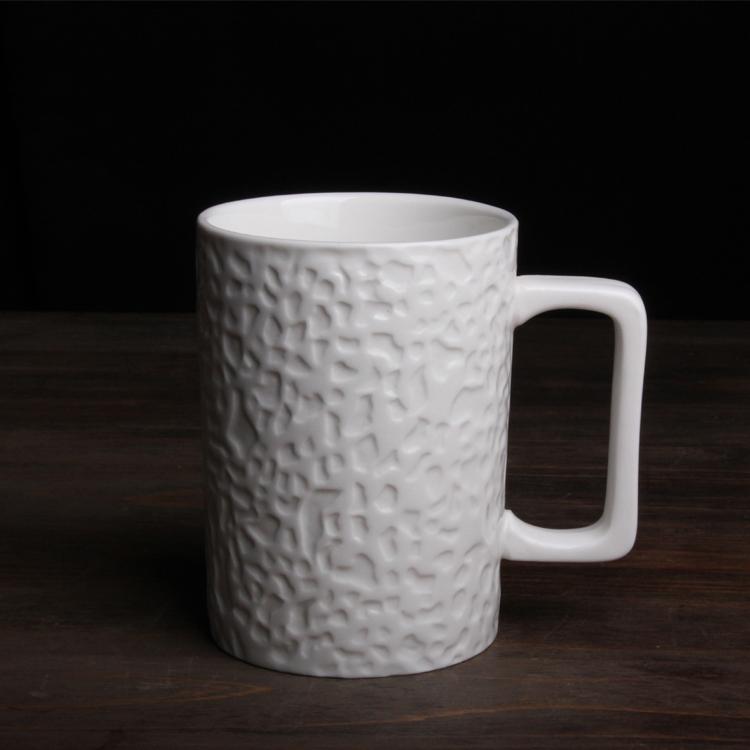 珊瑚浮雕陶瓷马克杯