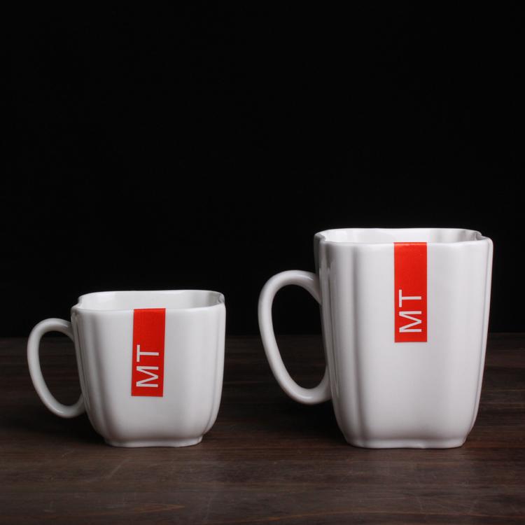 四方陶瓷馬克杯