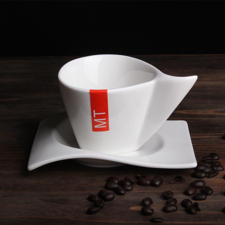 海浪咖啡杯碟