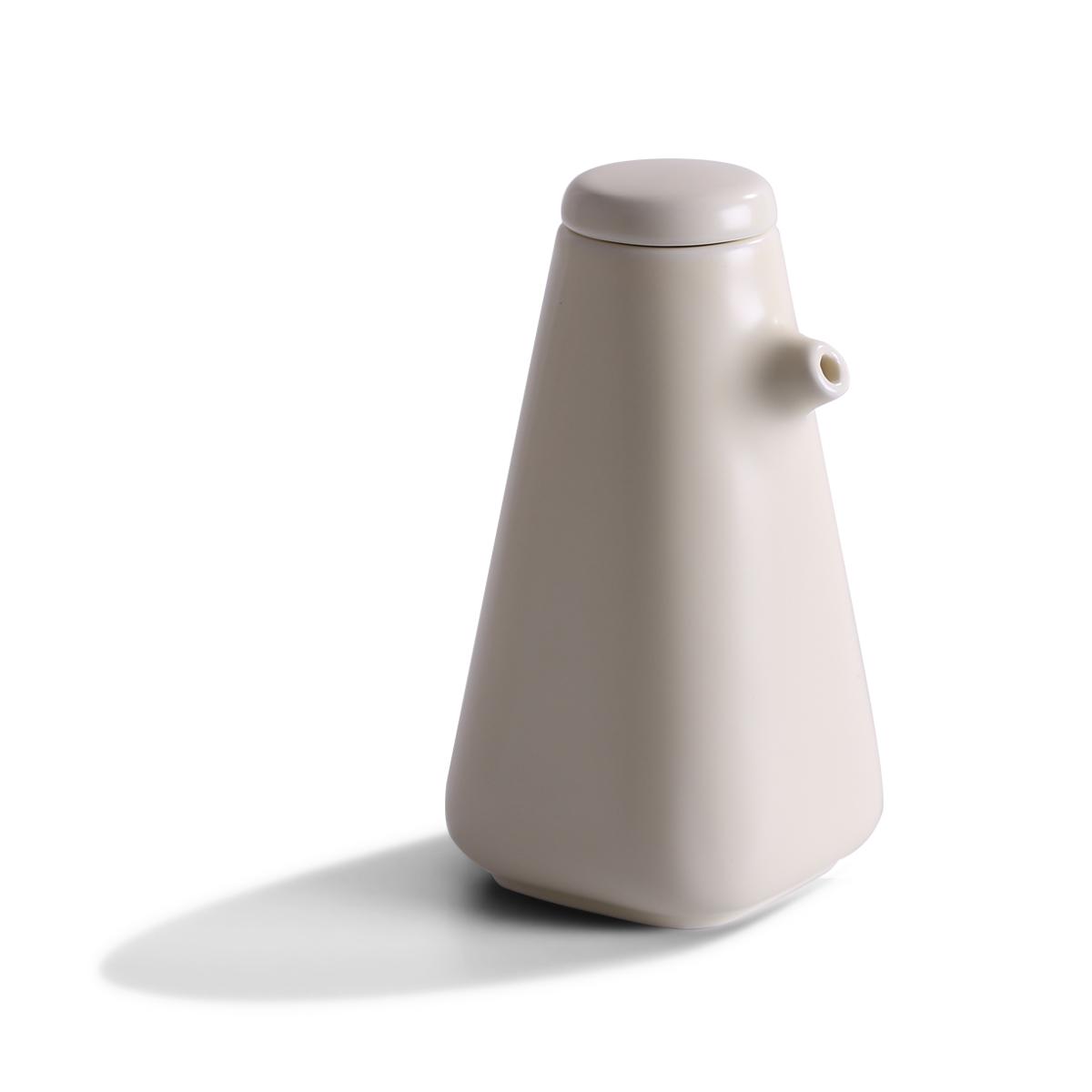 方形调味罐色釉款 瓶