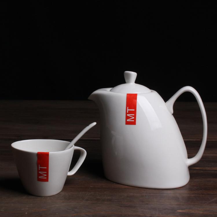 优雅陶瓷花茶具/咖啡壶
